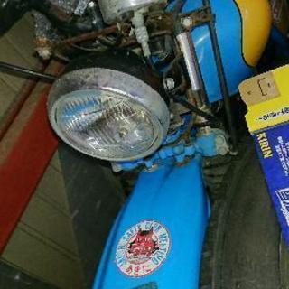 ホンダ125ccトレール