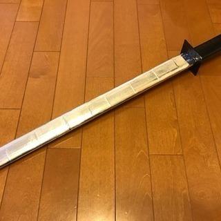 牛乳パック剣(長剣 鞘無)