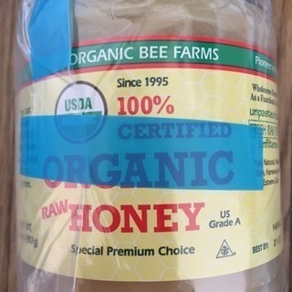 Eco Bee農場 本当の生 蜂蜜 未加工 907g オーガニッ...