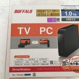 BAFFALO 1TB ハードディスク HDD