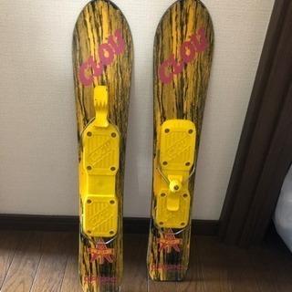 ショートスキー板?