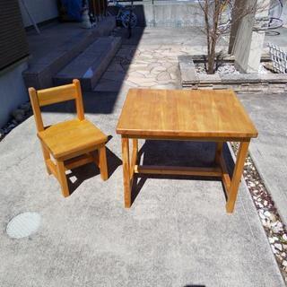 【値下げしました】お子様 机、椅子セット