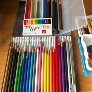 お引き渡し決定 色鉛筆、絵具など補充用に