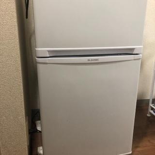 ノンフロン一人暮らし用冷蔵庫使用期間1年半
