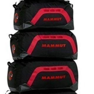 マムート大型ダッフルバッグ110L