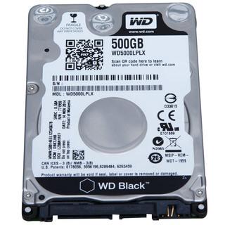 WD BLACK 2.5HDD 7mm 7200rpm 500GB