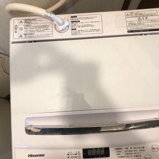 ハイセンス HW-G75A 洗濯機