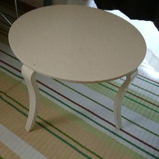 ホワイトテーブル