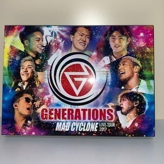 【GENERATIONS】MAD CYCLONE DVD