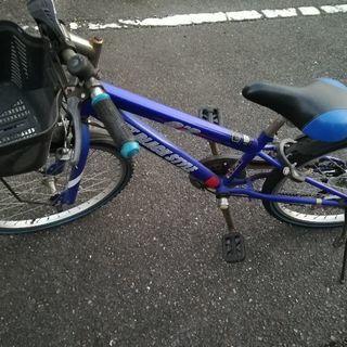 子供用自転車 男の子用 ブルー 小学生