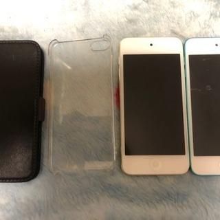 iPod touch第5、6世代のセット+ケース、バラ売り可
