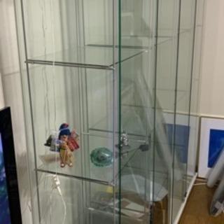 ガラス製ショーケース4個セット(単品売却可能) - 家具