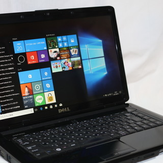 DELL inspiron1545 Windows10グレードア...