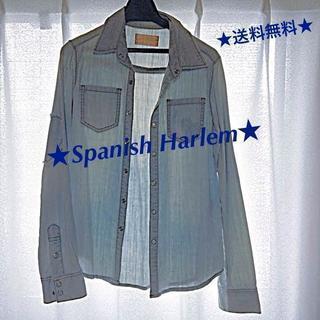Spanish Harlem(スパニッシュハーレム)タンガリーシャツ