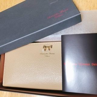 【新品未使用】【値下げ】サマンサタバサ deluxe 長財布
