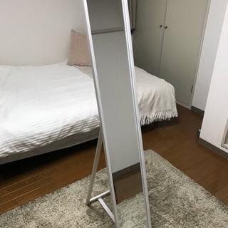 ニトリ製 全身鏡 高さ150cm 幅22cm