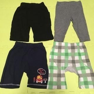 90サイズ 夏用パンツ 4枚組