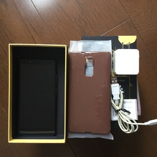 <値下げ>【中古美品】FREETEL スマートフォン/SAMUR...
