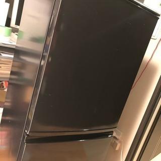 単身向きSHARP2008年製冷蔵庫137L