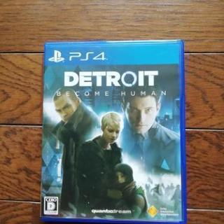 DETROIT BECOME HUMAN (デトロイト)ps4
