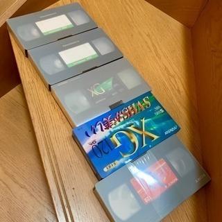 【未使用】VHSテープ(5本)