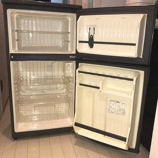 JEMS ジェムス 冷凍冷蔵庫 82L 高さ93.4×幅47.6×...