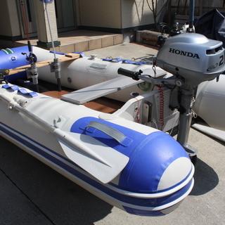 パワーボート・2馬力エンジン1式売ります