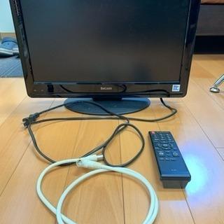 【値下げ】19型テレビ リモコン・アンテナケーブル付き ☆…