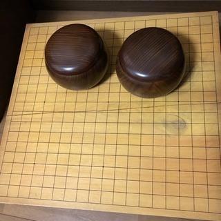 囲碁盤、碁石セット 差し上げます