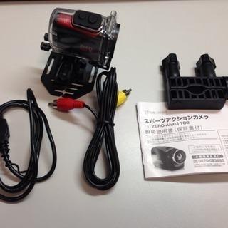 アクションカメラ  ZERO-AMC1108