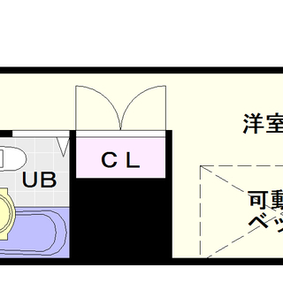 【メゾン日本橋別館】1号タイプ!1Rタイプ!リーズナブルさが魅力的☆