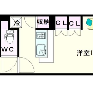 【CITY SPIRE難波WEST】4号タイプ!1Rタイプ!4階...