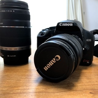 CANON EOS KISS X2 ダブルズームキット(キャリー...