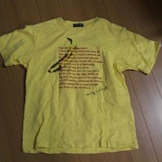 子供用 黄色いTシャツ S  150cm位