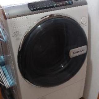 中古 SHARP シャープ ドラム式洗濯乾燥機 ESーV300ー...