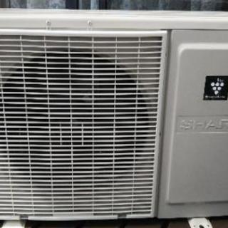 SHARP プラズマクラスター エアコン 2.5kw