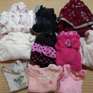 冬服子供服70cm①⑨10点セット【若松区引渡】