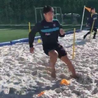 サッカー少年必見!スプリント強化に最適なビーチアジリティ講座