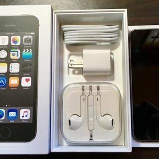 【未使用】 iPhone 5s Space Gray 16GB au