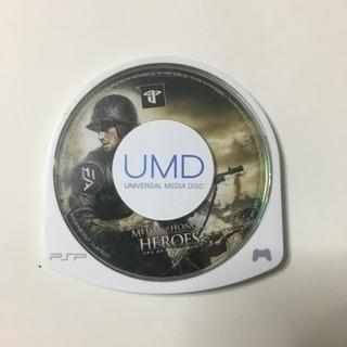PSPゲームソフト『メダル オブ オナー ヒーローズ』