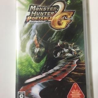 PSPソフト『モンスターハンターポータブル』