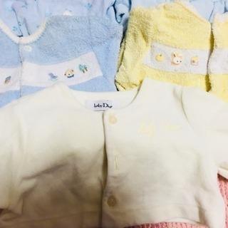 お値下げ!baby Dior、ファミリアロンパースセット