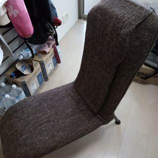 一人ソファ 座椅子 仕掛けあり 詳細は問い合わせをお願いし…