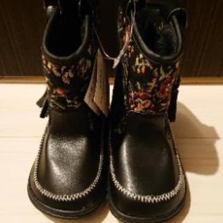 新品☆女の子ブーツ 15cm