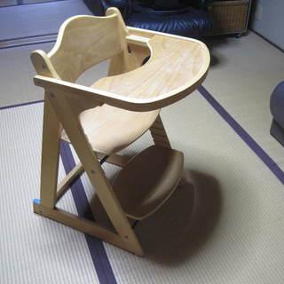 ベビーチェア テーブル付き KATOJI 説明書、ベルト、調整工具付き