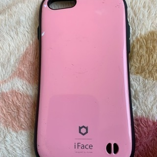 iPhone8の保護ケースピンク値下げ!