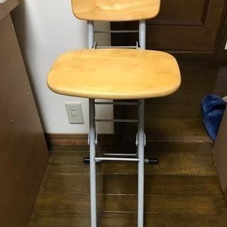 折りたたみ椅子 高さ調節 取りに来て下さる方