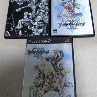☆PS2/KINGDOM HEARTS & Ⅱ & FINAL ...