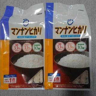 マンナンヒカリ 75g(1合分) × 14袋