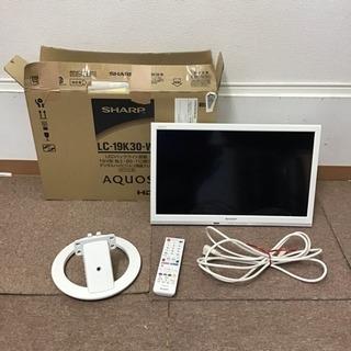 シャープ 19V型 液晶 テレビ AQUOS LC-19K30-...